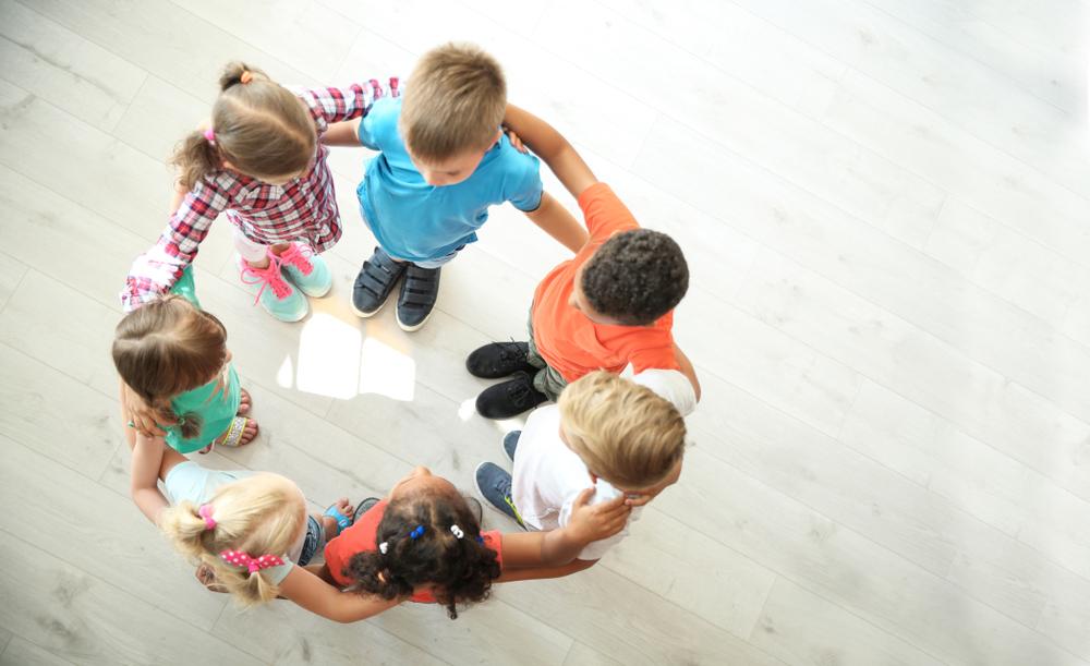 Uno de nuestros valores en Harmony Montessori es la amistad